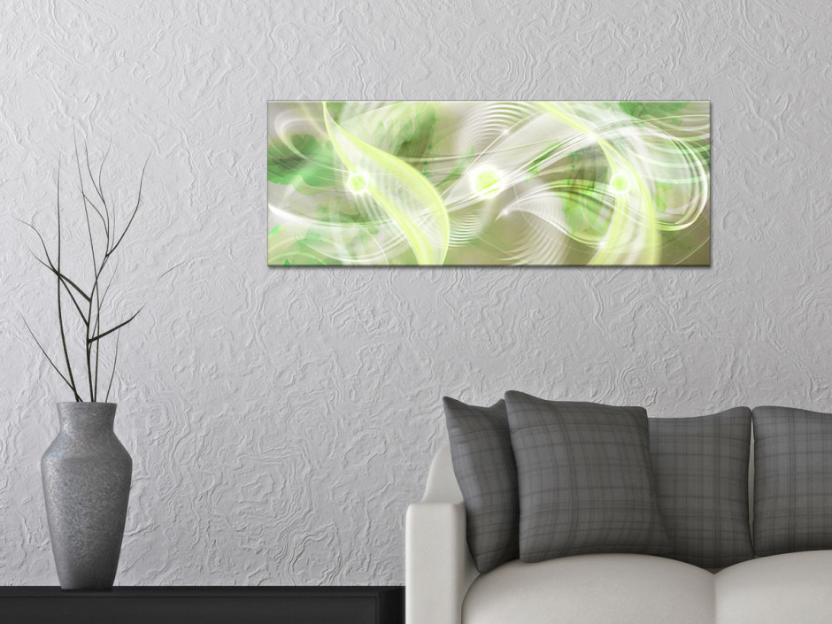 Tableau toile panoramique abstraite HYPNOSE