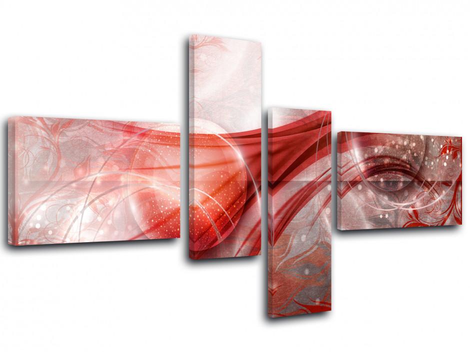 Tableau toile décoration abstraite BULLES DESIGN