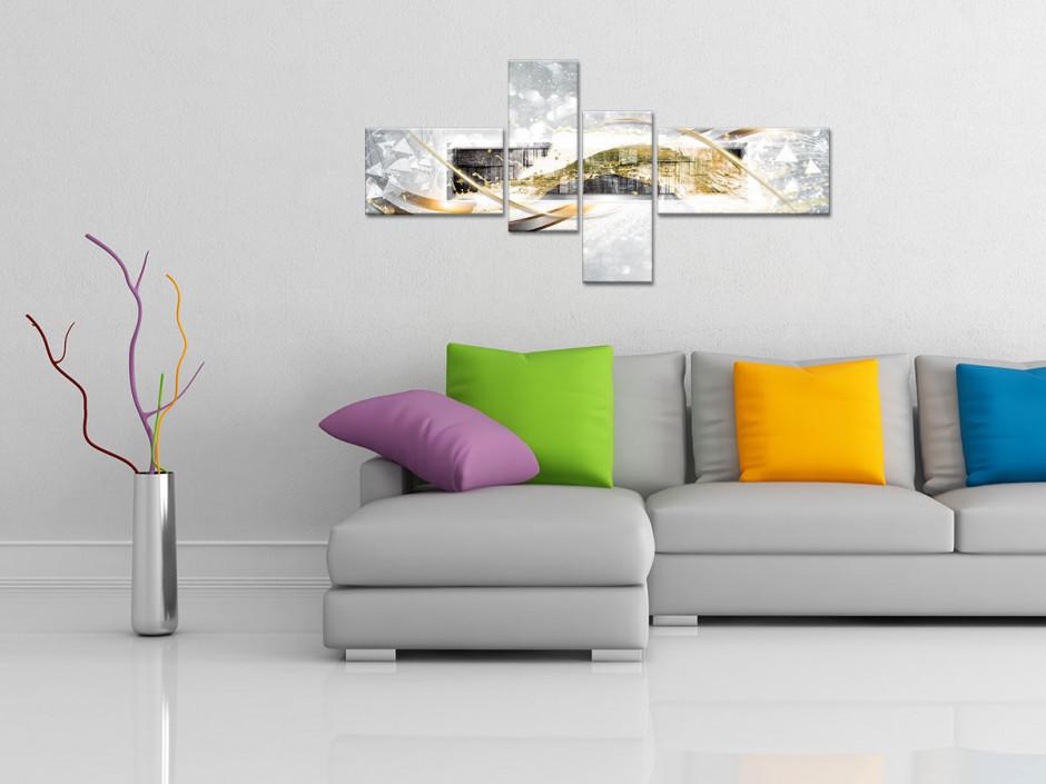 Tableau abstrait decoratif SARGAS