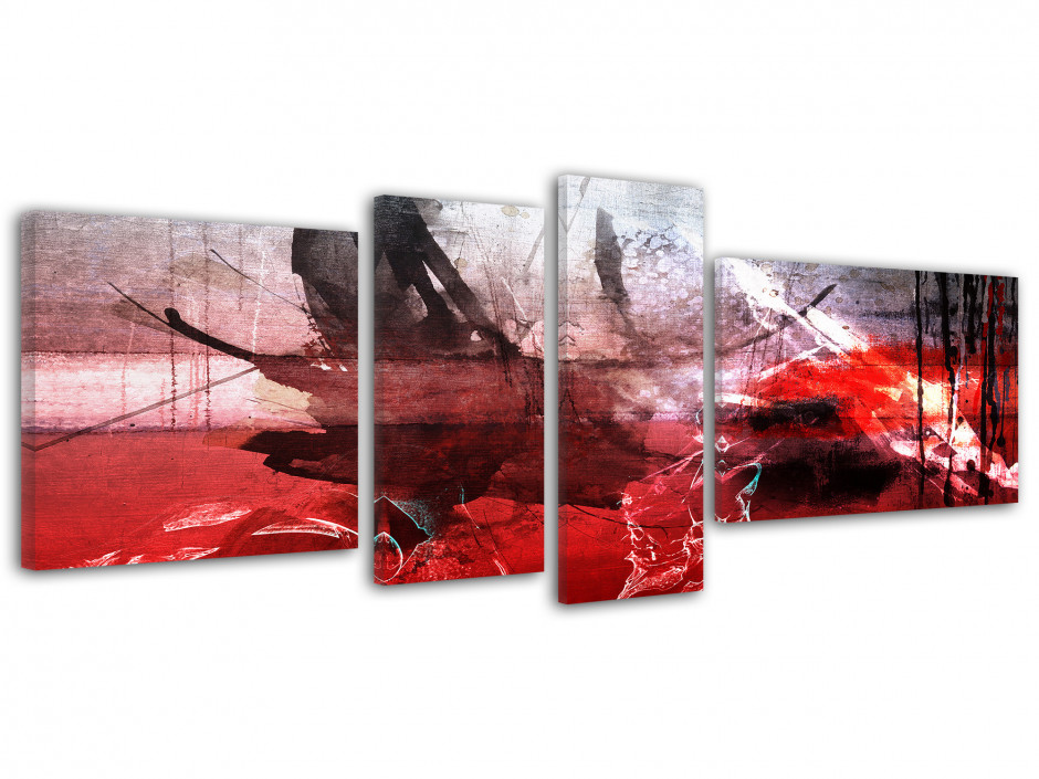 Tableau toile peinture abstraite ENCRE