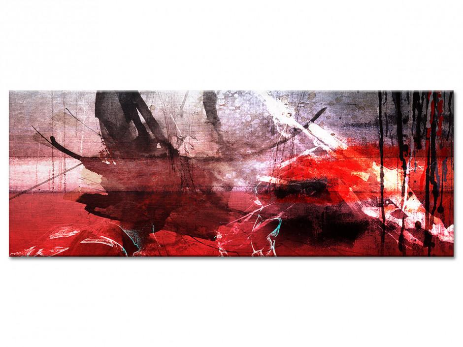 Tableau toile peinture art abstrait TÂCHES DE COULEURS