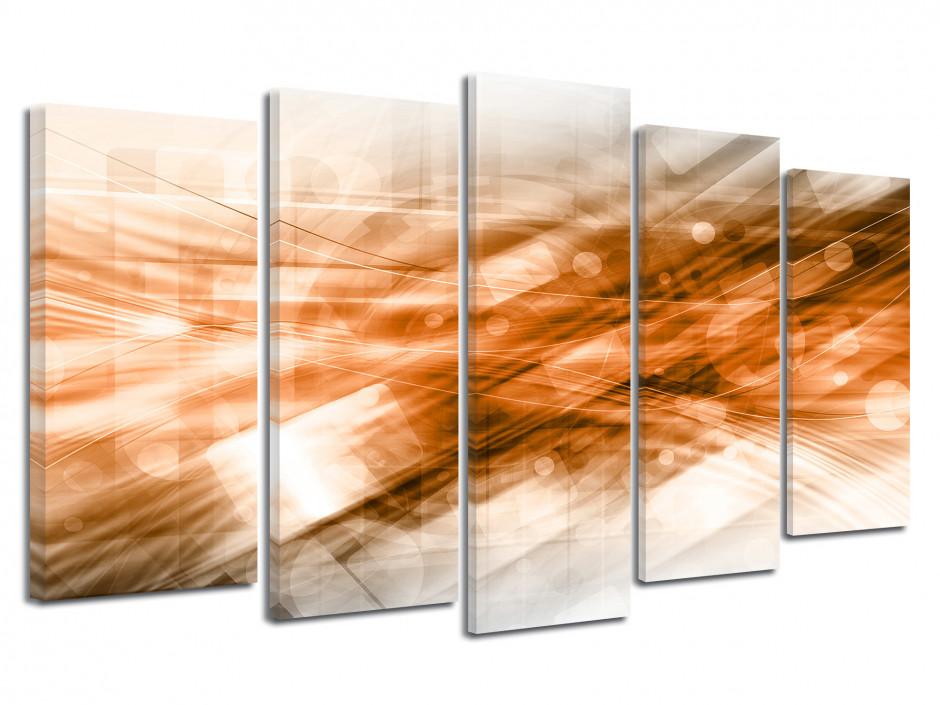 Tableau toile abstraite FILAMENTS