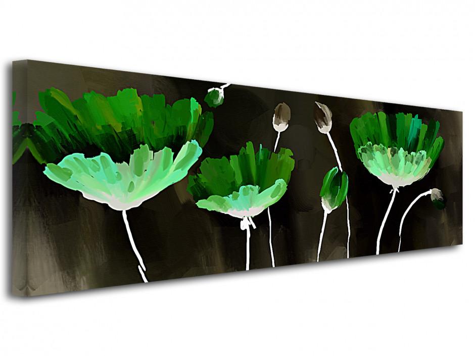 Tableau toile fleurs PEINTURE ABSTRAITE