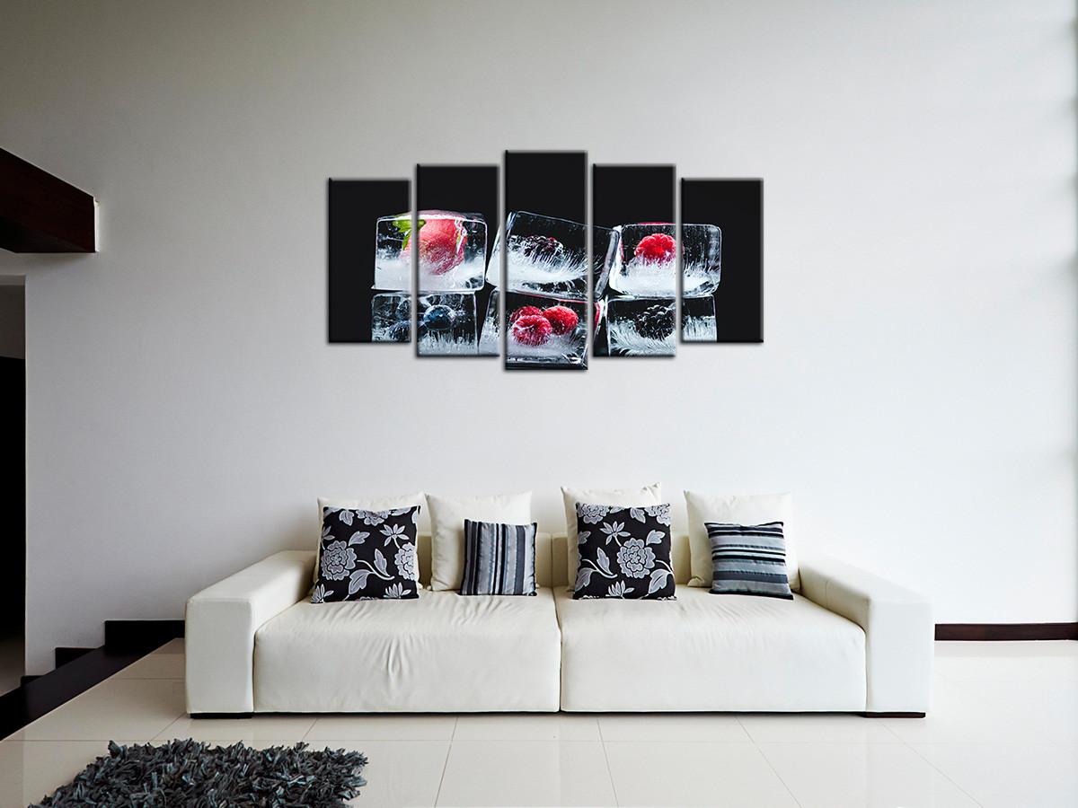 Cadre déco 17 panneaux - Décoration murale de cuisine - Declina