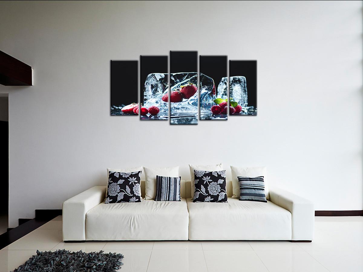Cadre photo déco Cuisine - Tableau en 16 panneaux pour la