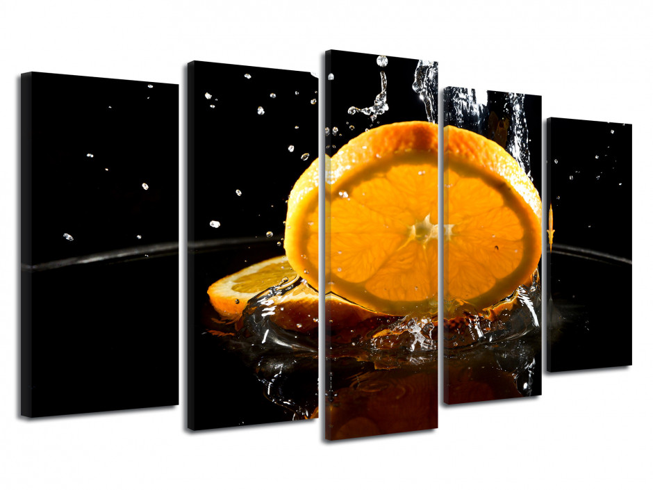 Tableau déco Fruits, l'Orange