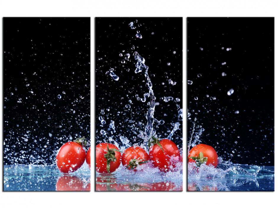 Tableau triptyque Déco Les Tomates