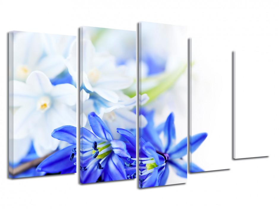Tableau toile deco Fleurs de printemps