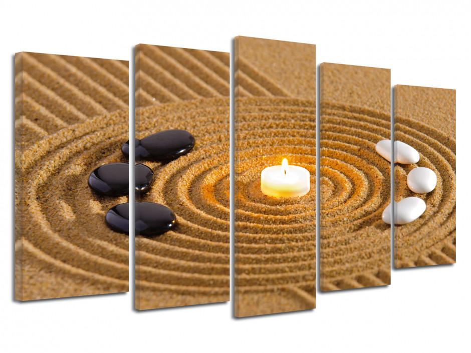 Tableau cadre deco zen jardin japonais