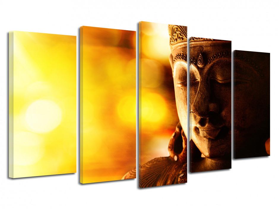 Tableau grand format Bouddha
