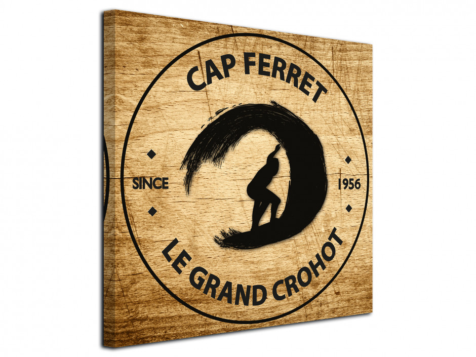 Tableau Illustration Cap Ferret Le Grand Crohot
