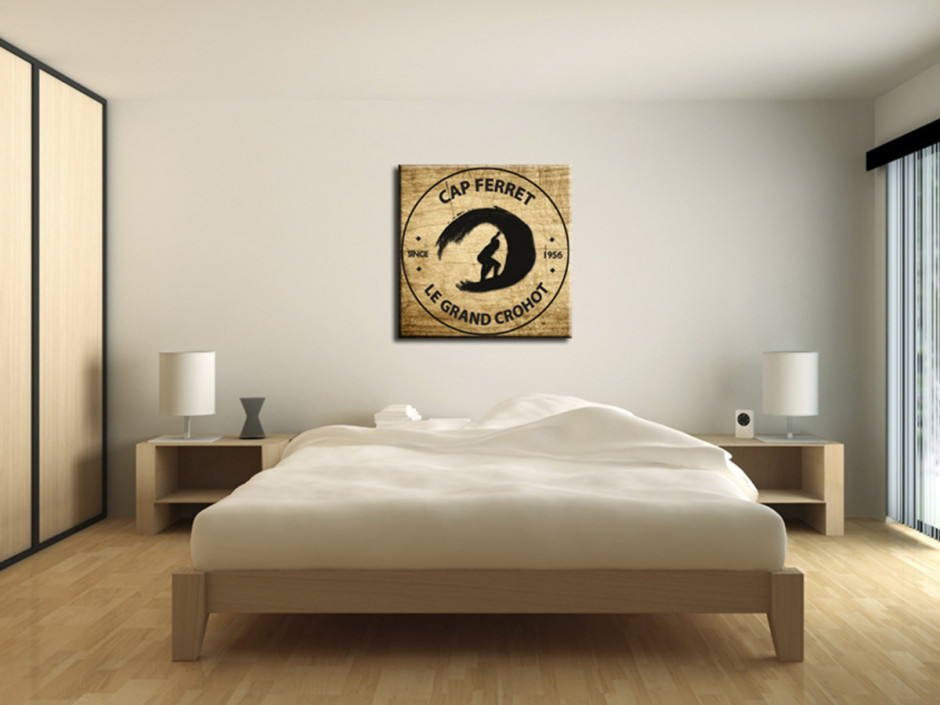 Tableau Illustration Cap Ferret Le Grand Crohot