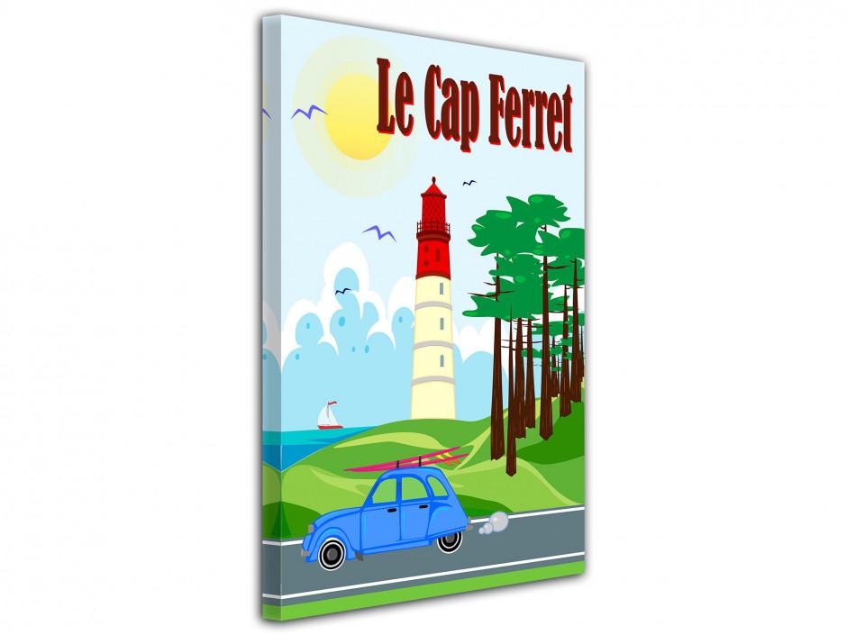 Tableau Affiche du Phare du Cap Ferret