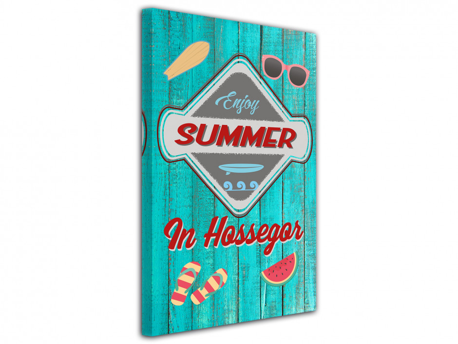 Tableau illustration Enjoy Summer In Hossegor