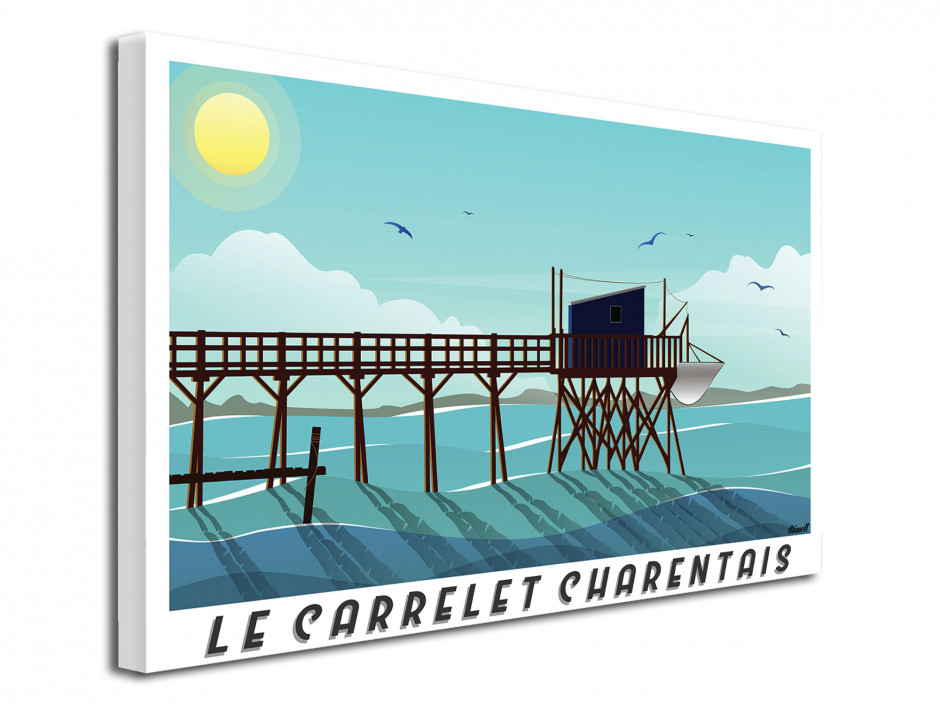 Illustration Graphique Le Carrelet Charentais