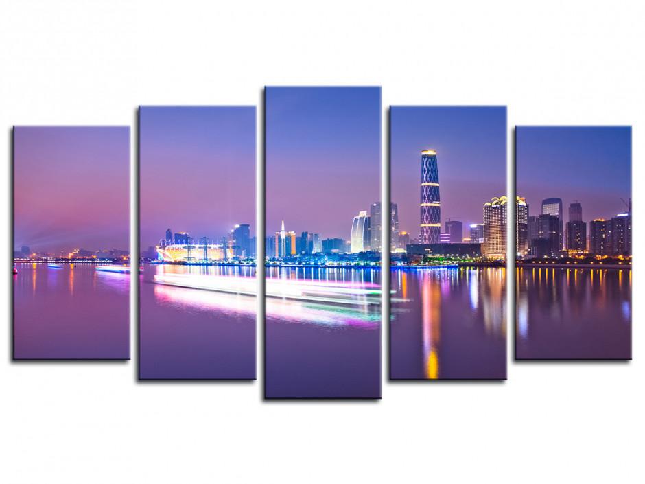 Tableau toile photo Zhujiang River