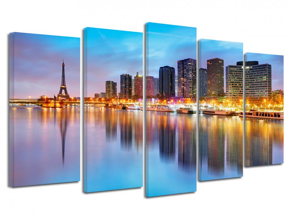 Tableau photo La Seine Paris