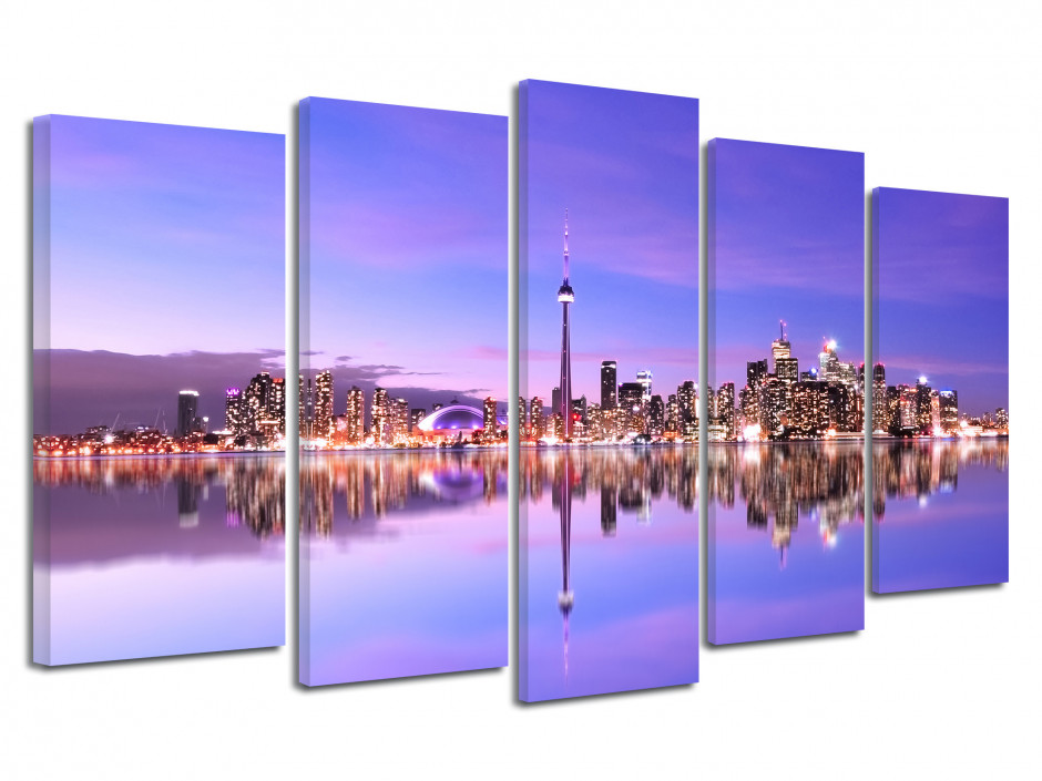 Cadre photo sur Toronto Canada