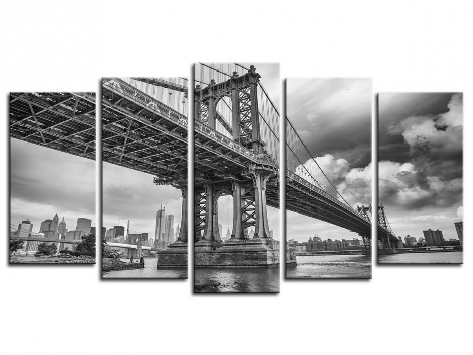 Tableau photo Manhattan Bridge