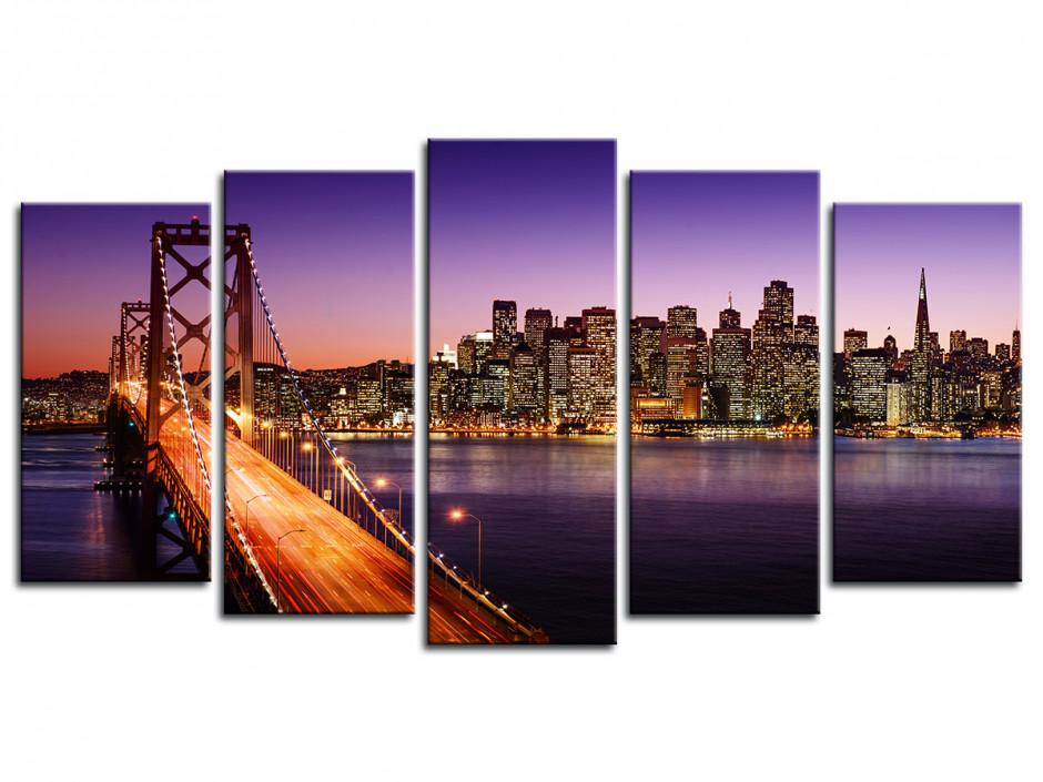 Tableau deco Pont de San Francisco
