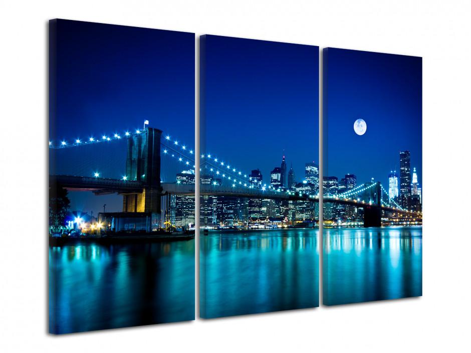 Tableau photo sur toile Pont de Brooklyn
