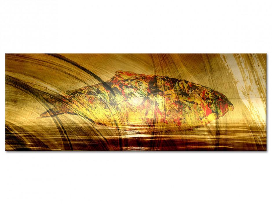 Tableau toile panoramique POISSON MODERNE