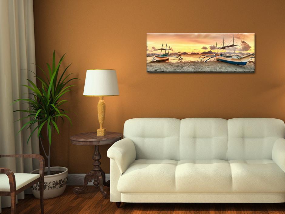 Tableau toile photo de paysage MARÉE BASSE