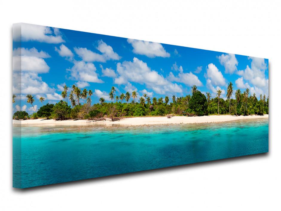 Tableau toile photo paysage ÎLE