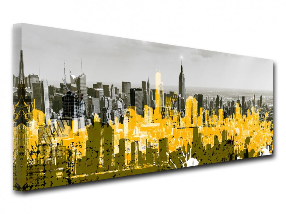 Tableau toile déco NEW YORK ET DESSIN