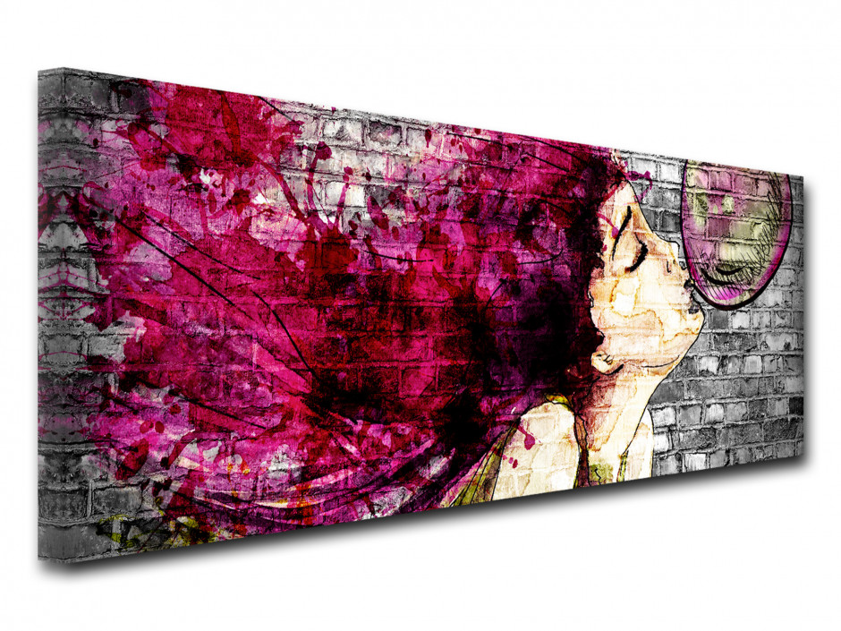 Tableau toile street art déco GRAFFITIS