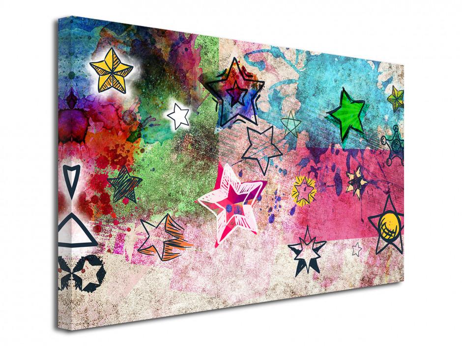 Tableau toile déco moderne STARS