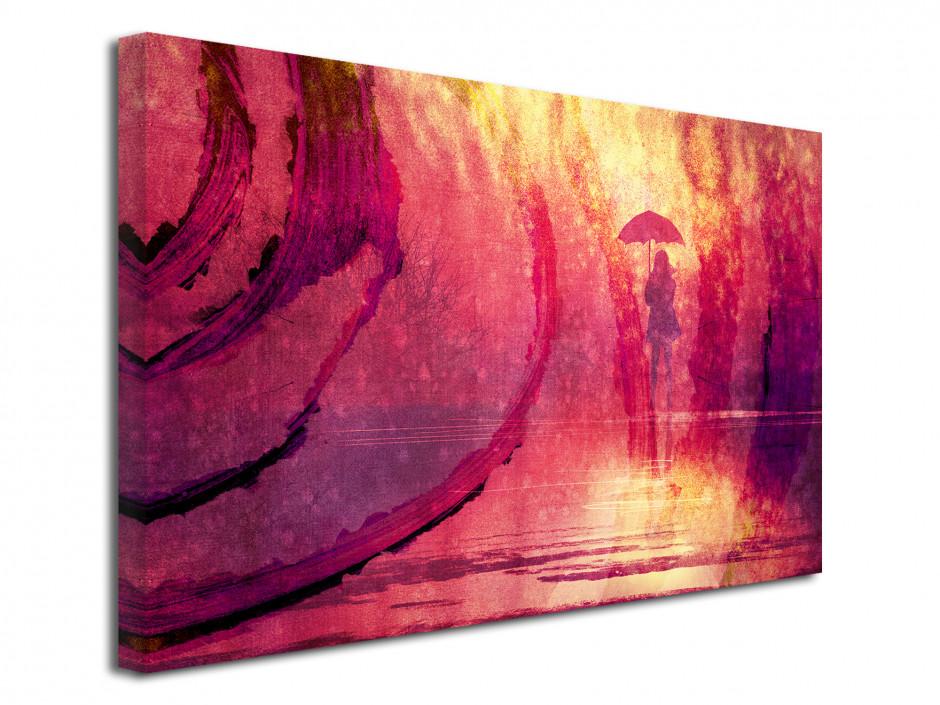 Tableau toile moderne couleur PARAPLUIE