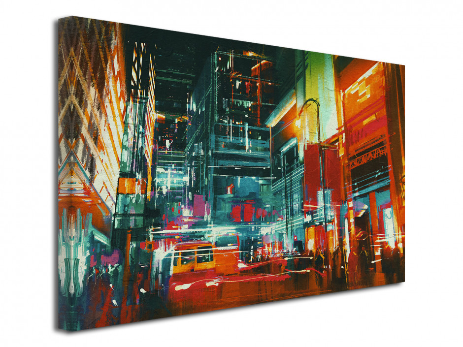 Tableau deco moderne New York Painting