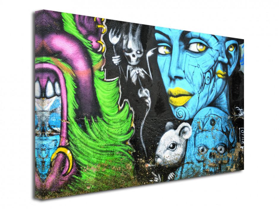 Tableau deco moderne Graffiti