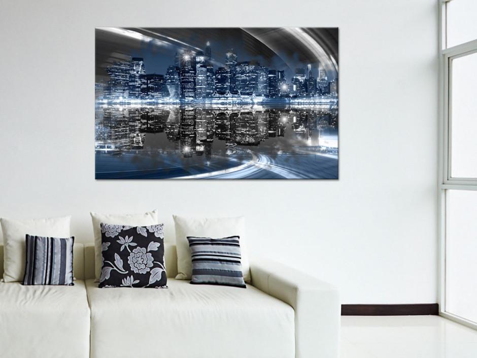Tableau toile photo NEW YORK DE NUIT