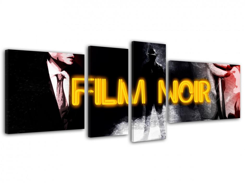 Tableau toile cinéma FILM NOIR