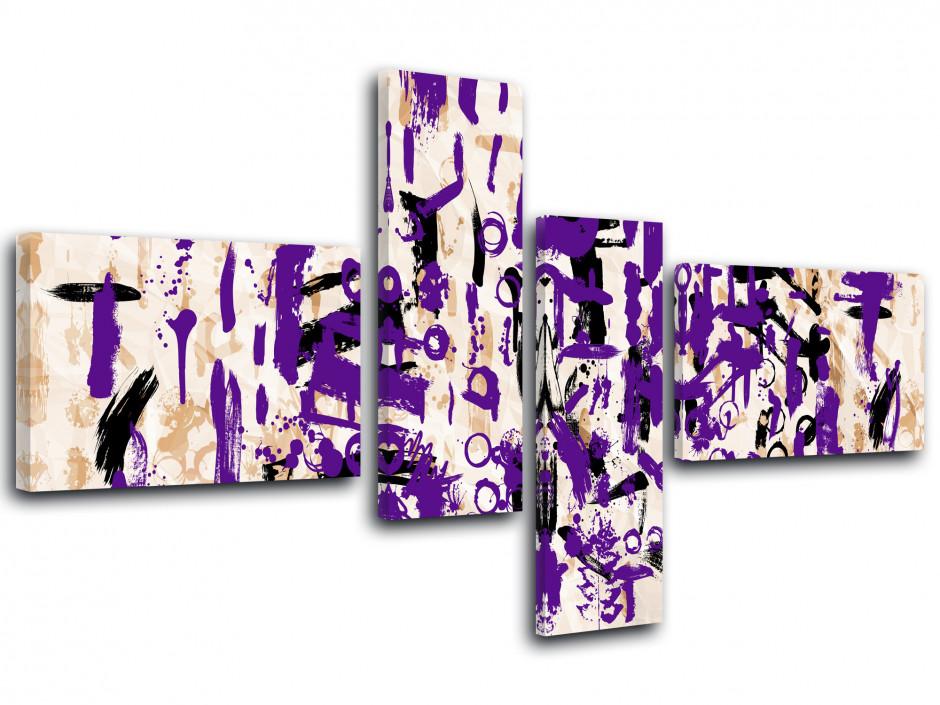 Tableau toile art moderne SYMBOLES