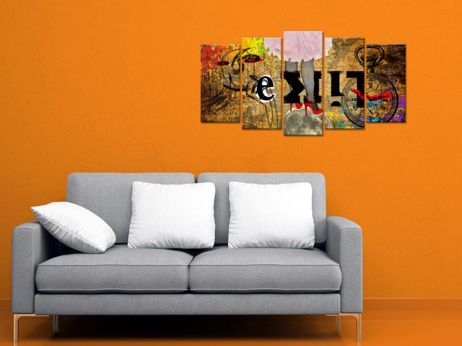 Tableau toile art moderne SURRÉALISME
