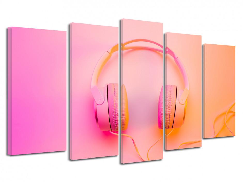 Tableau moderne Casque Audio