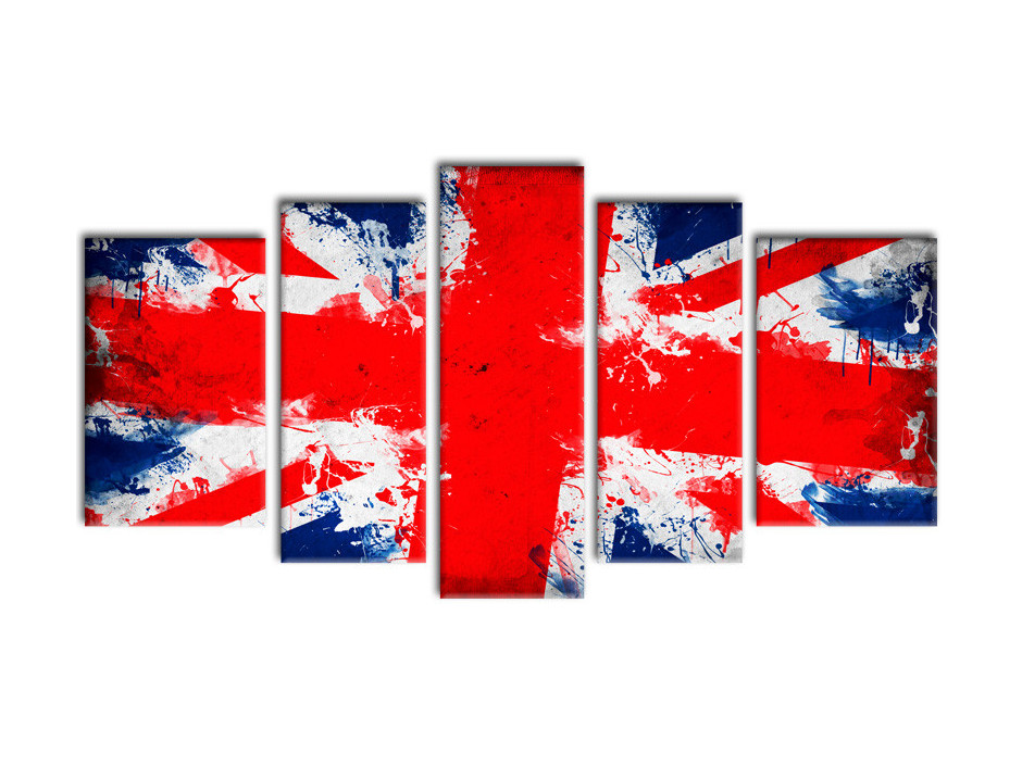 Tableau deco moderne BRITISH FLAG
