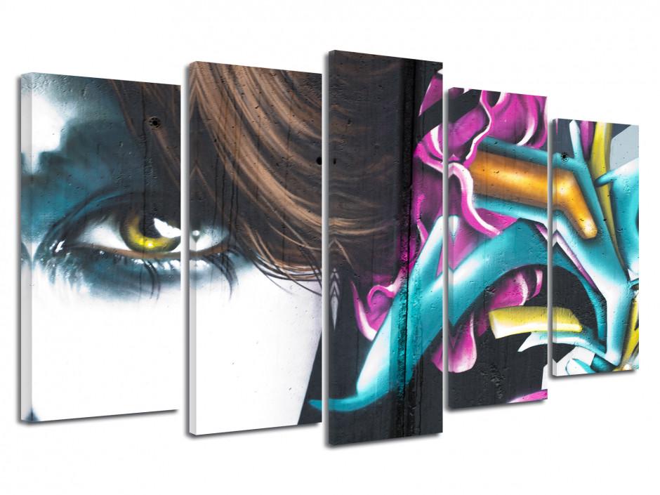 Tableau moderne design Graff