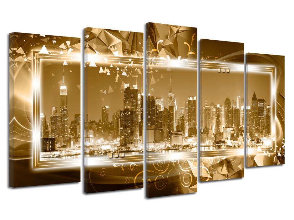 Tableau toile cadre moderne urbain NEW YORK