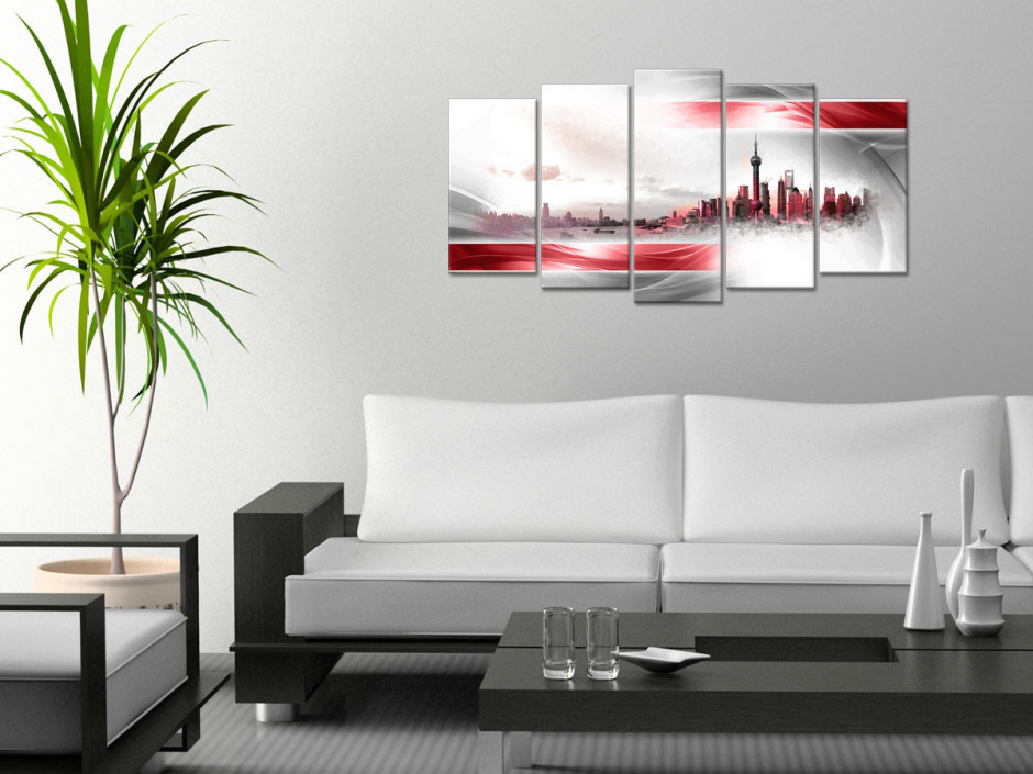 Tableau toile design déco SHANGHAI