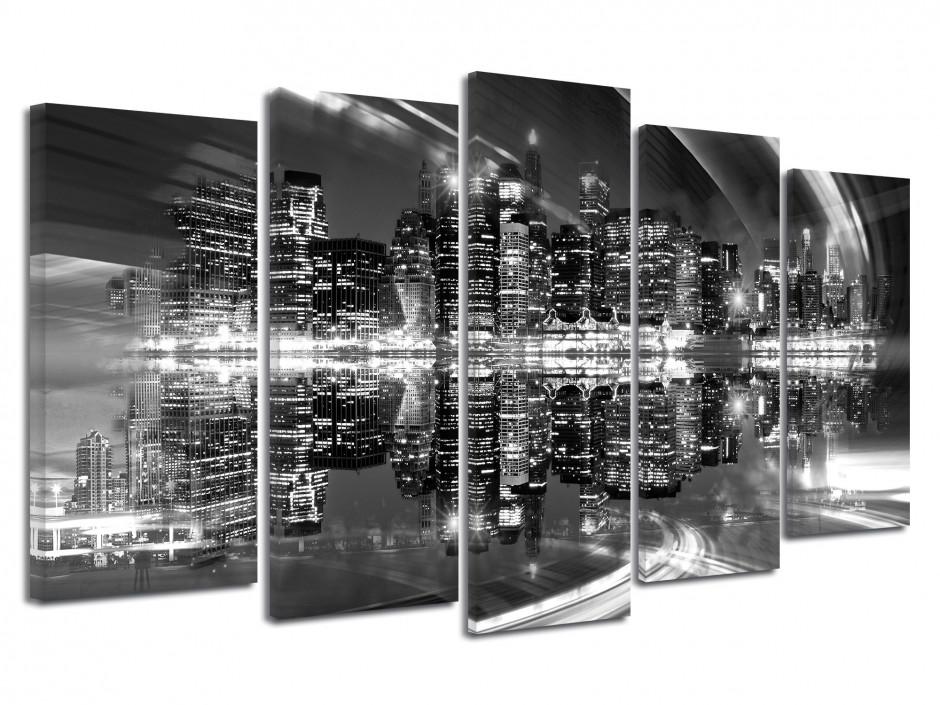 Tableau toile noir et blanc PHOTO DE NEW YORK