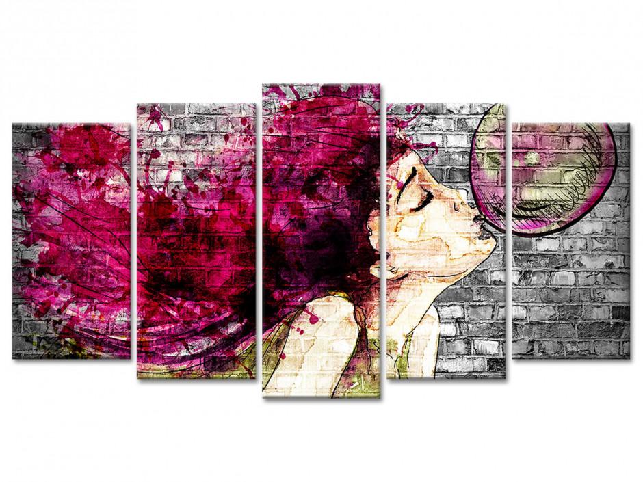 Tableau toile moderne déco STREET ART