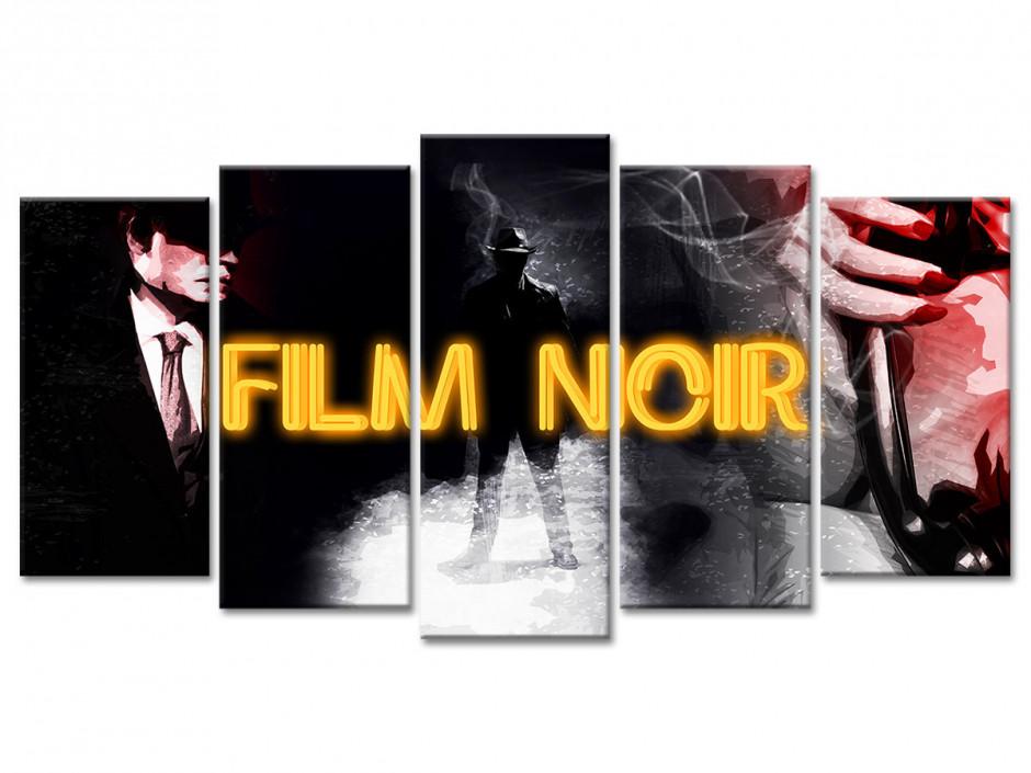 Tableau toile déco cinéma SÉRIE NOIRE