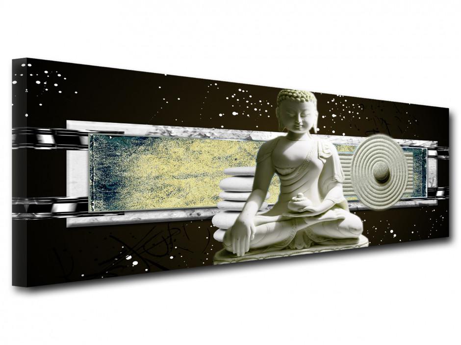 Tableau toile zen décoration STATUE BOUDDHA