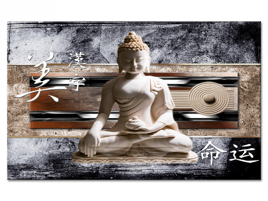 Tableau toile deco zen BOUDDHA ET JAPON
