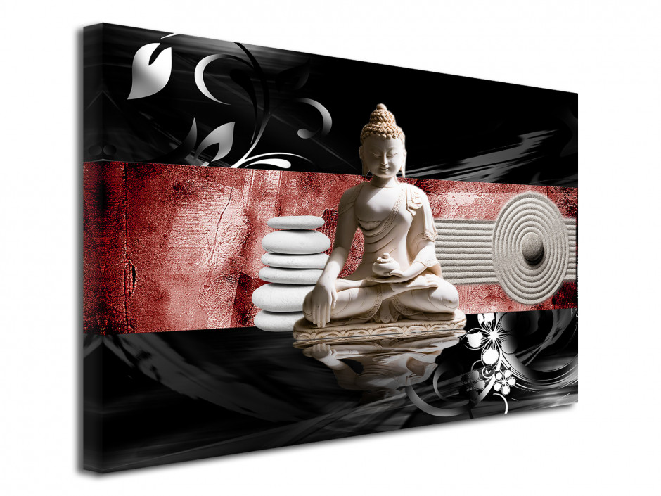Tableau toile élégance zen DÉCORATION BOUDDHA