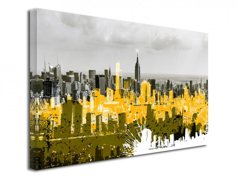 Tableau photo design Manhattan Graffiti